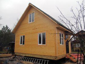 Дачный дом с одной спальней